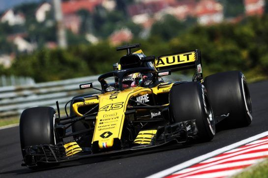 Artem Markelov (RUS) Renault Sport F1 RS18 Test and Development Driver. 01.08.2018. Formula 1 Testing, Budapest, Hungary. - www.xpbimages.com, EMail: requests@xpbimages.com - copy of publication required for printed pictures. Every used picture is fee-liable. © Copyright: Moy / XPB Images
