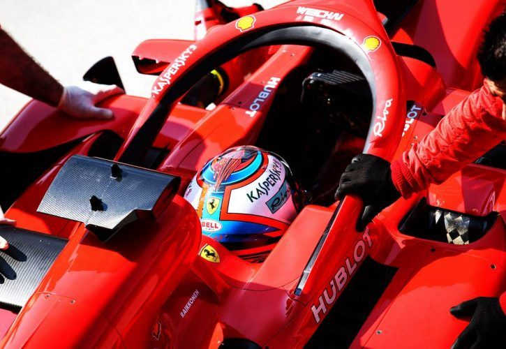 Kimi Raikkonen (FIN) Ferrari SF71H. 01.08.2018.