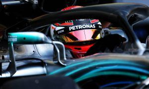 Russell winds up test with new unofficial Hungaroring record