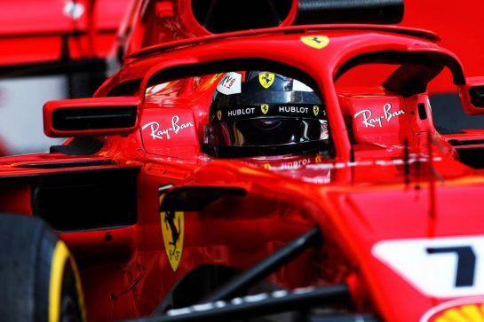 Kimi Raikkonen (FIN) Ferrari SF71H. 01.08.2018. Formula 1 Testing, Budapest, Hungary. - www.xpbimages.com, EMail: requests@xpbimages.com - copy of publication required for printed pictures. Every used picture is fee-liable. © Copyright: Charniaux / XPB Images