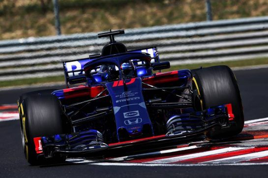 Pierre Gasly (FRA) Scuderia Toro Rosso STR13. 01.08.2018. Formula 1 Testing, Budapest, Hungary. - www.xpbimages.com, EMail: requests@xpbimages.com - copy of publication required for printed pictures. Every used picture is fee-liable. © Copyright: Moy / XPB Images