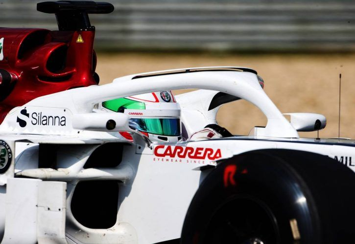 Antonio Giovinazzi (ITA) Sauber C37 Test Driver.