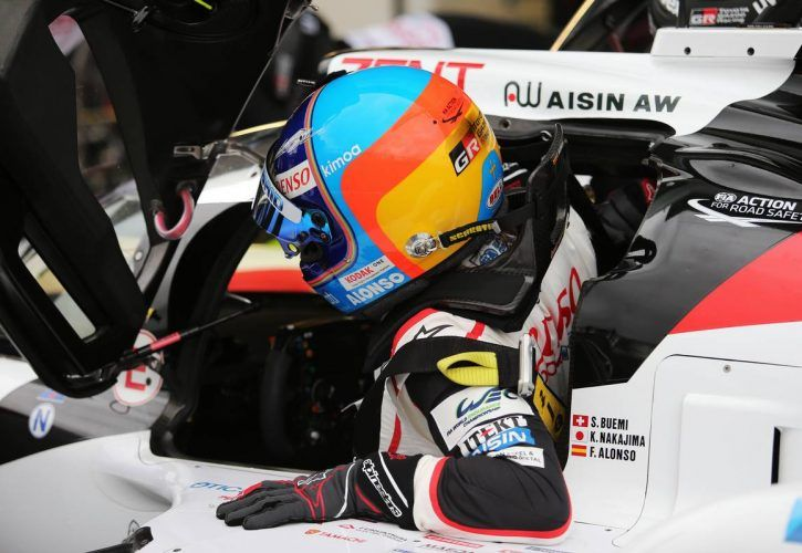 Fernando Alonso (ESP) TOYOTA GAZOO Racing.