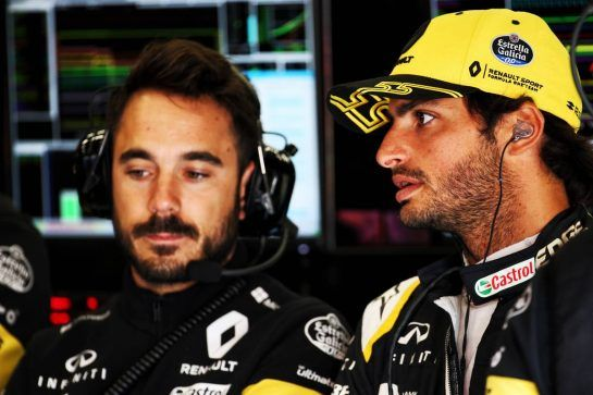 Carlos Sainz Jr (ESP) Renault Sport F1 Team. 25.08.2018. Formula 1 World Championship, Rd 13, Belgian Grand Prix, Spa Francorchamps, Belgium, Qualifying Day. - www.xpbimages.com, EMail: requests@xpbimages.com - copy of publication required for printed pictures. Every used picture is fee-liable. © Copyright: Batchelor / XPB Images