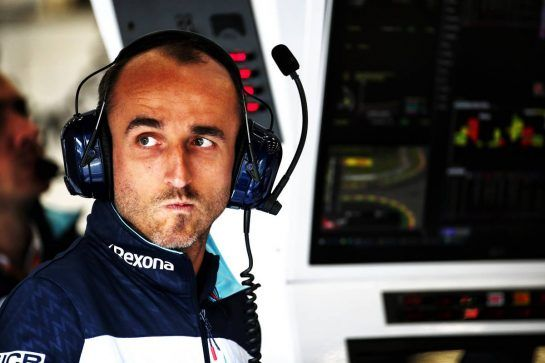 Robert Kubica (POL) Williams Reserve and Development Driver. 25.08.2018. Formula 1 World Championship, Rd 13, Belgian Grand Prix, Spa Francorchamps, Belgium, Qualifying Day. - www.xpbimages.com, EMail: requests@xpbimages.com - copy of publication required for printed pictures. Every used picture is fee-liable. © Copyright: Batchelor / XPB Images