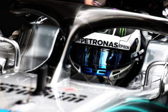 Valtteri Bottas (FIN) Mercedes AMG F1 W09. 25.08.2018. Formula 1 World Championship, Rd 13, Belgian Grand Prix, Spa Francorchamps, Belgium, Qualifying Day. - www.xpbimages.com, EMail: requests@xpbimages.com - copy of publication required for printed pictures. Every used picture is fee-liable. © Copyright: Batchelor / XPB Images
