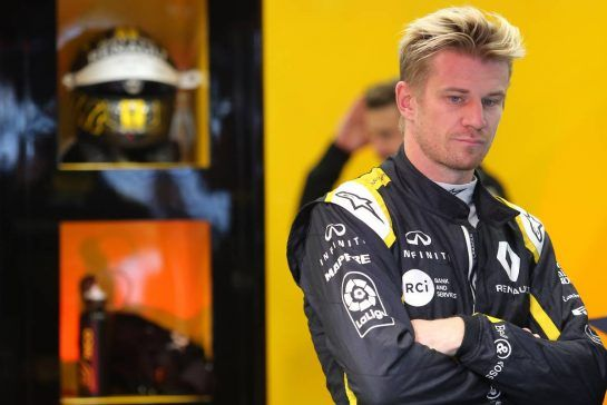 Nico Hulkenberg (GER) Renault Sport F1 Team 25.08.2018. Formula 1 World Championship, Rd 13, Belgian Grand Prix, Spa Francorchamps, Belgium, Qualifying Day.- www.xpbimages.com, EMail: requests@xpbimages.com - copy of publication required for printed pictures. Every used picture is fee-liable. © Copyright: Charniaux / XPB Images