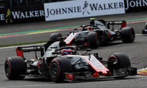 Haas earns another double-points result, closes in on Renault