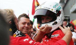 Vettel: 'smooth race' shows Ferrari has taken a step forward