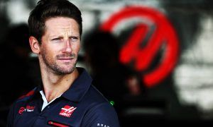 Grosjean has found a key, and Steiner hopes he doesn't lose it!