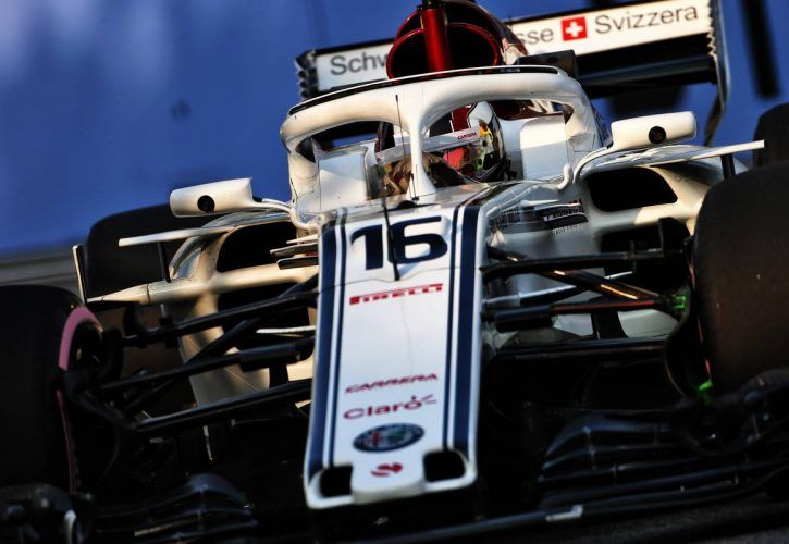 Charles Leclerc (MON) Sauber F1 Team C37.