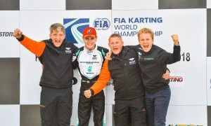 Rosberg the team owner conquers a world title!