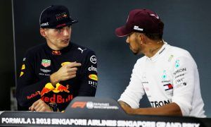 Red Bull's Verstappen 'very surprised' by front-row spot