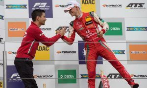 Mick Schumacher makes it a hat-trick at the Nurburgring!