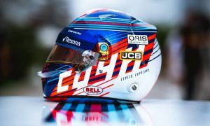 Sergey Sirotkin gets a new lid for home race
