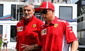 Ferrari's Camilleri still pondering the future of Kimi Raikkonen