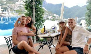 Jenson and Max go full Dolce Vita in Ravello