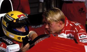 The day newbie Hakkinen infuriated Senna