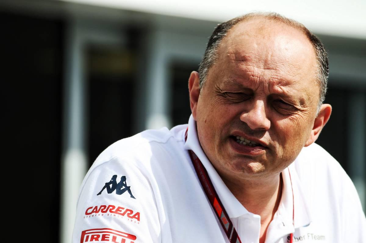 Frederic Vasseur (FRA) Sauber F1 Team, Team Principal.