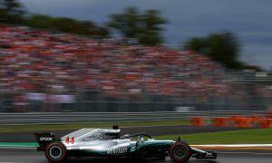 Hamilton shrugs off jeers from passionate Tifosi