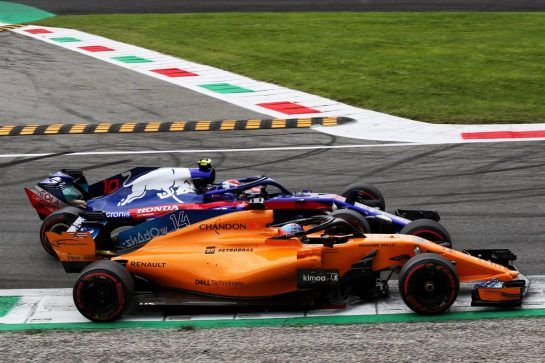 Italian GP: Sunday's action from Monza in pictures
