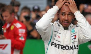 Hamilton says he left Vettel enough space on first lap