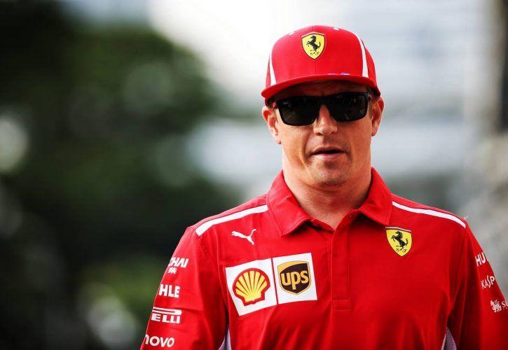 Kimi Raikkonen (FIN) Ferrari. 13.09.2018.