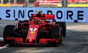 Raikkonen fastest on Friday for Ferrari as Vettel taps out