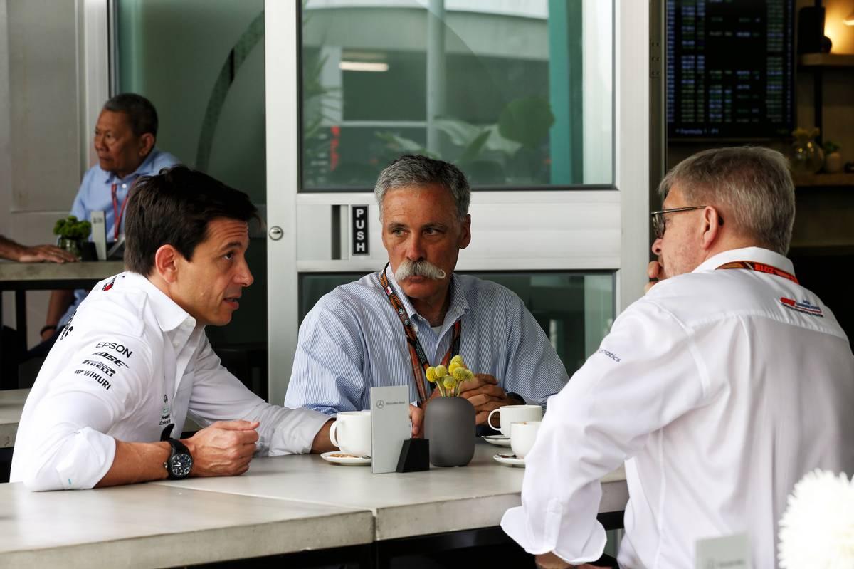 Toto Wolff, candidato potencial para el puesto de CEO de la F1