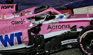 Force India maintains momentum in Singapore qualifying