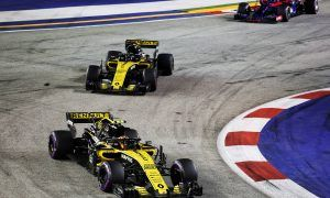 Renault 'satisfied' with double points success in Singapore