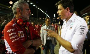Wolff: Mercedes-Ferrari relations tense, but also productive