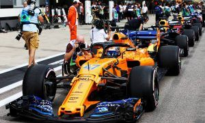 Alonso, Red Bull and Toro Rosso all sent to the back
