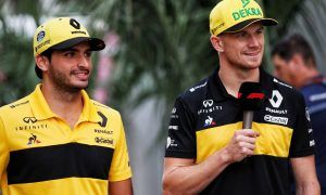 Hulkenberg and Sainz support Renault's 'wise strategy'