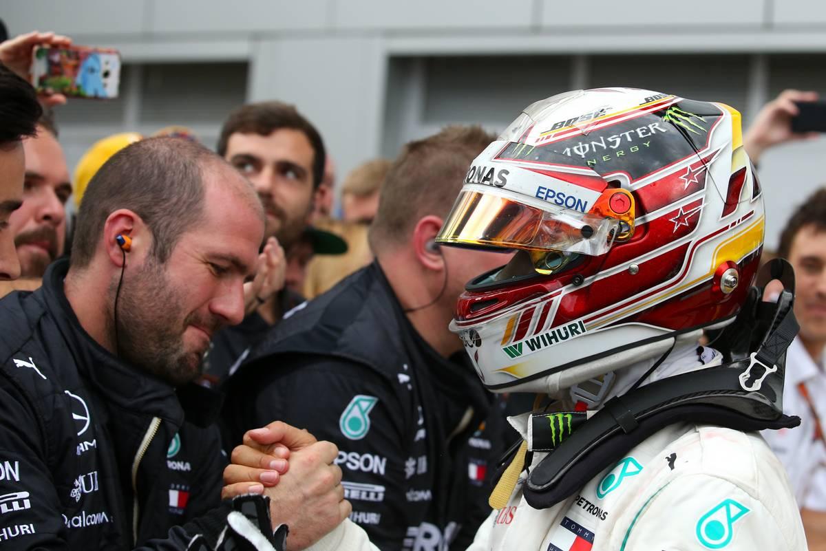 Lewis Hamilton (GBR) Mercedes AMG F1