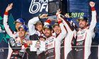 Toyota drivers dominate the podium after the 2018 6 Hours at Fuj