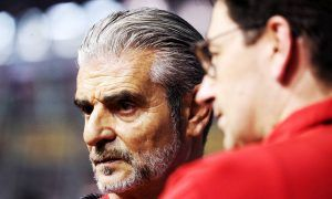 Arrivabene: Binotto rumors just 'fake news' to unsettle Ferrari