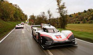 Webber drives venerable 919 Hybrid Evo to the museum