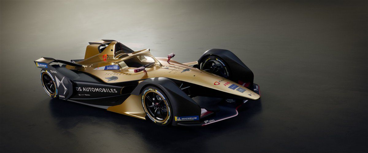 The new Gen2 Techeetah DS-Automobiles-powered entry for the first season of the ABB FIA Formula E championship