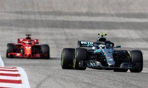 Tyre wear prevented Bottas from containing Vettel