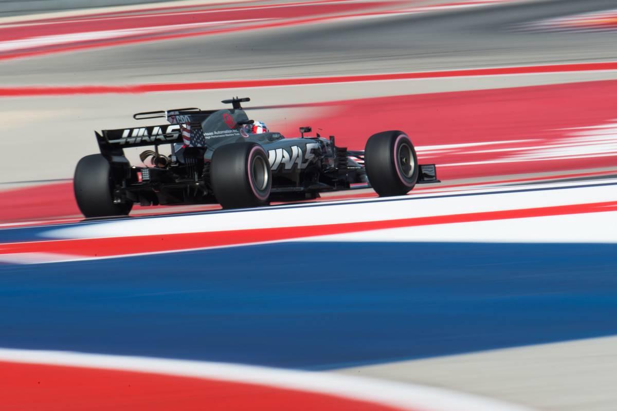 Romain Grosjean (FRA) Haas F1 Team VF-17.