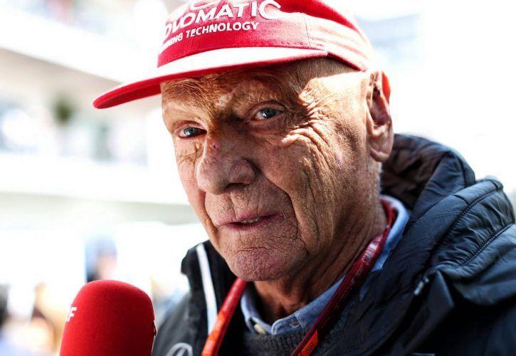Niki Lauda (AUT) Mercedes Non-Executive Chairman.