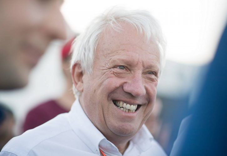 Charlie Whiting (GBR) FIA Delegate at the F1 raft race.