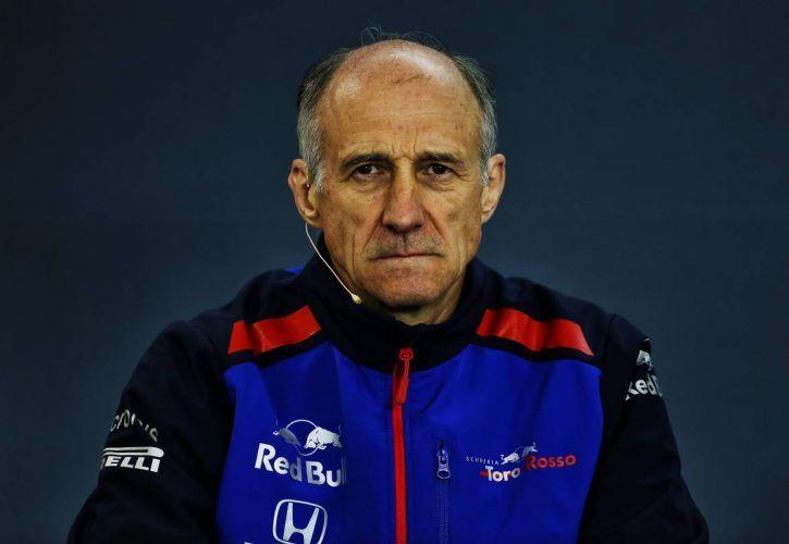 Franz Tost (AUT) Scuderia Toro Rosso Team Principal in the FIA Press Conference.