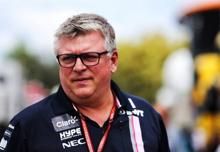 Otmar Szafnauer (USA) Racing Point Force India F1 Team Principal and CEO.