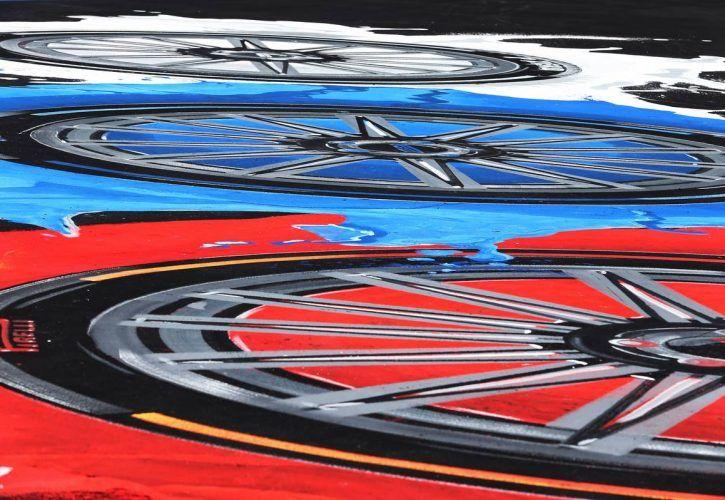 Circuit atmosphere - Pirelli branding. 27.09.2018.