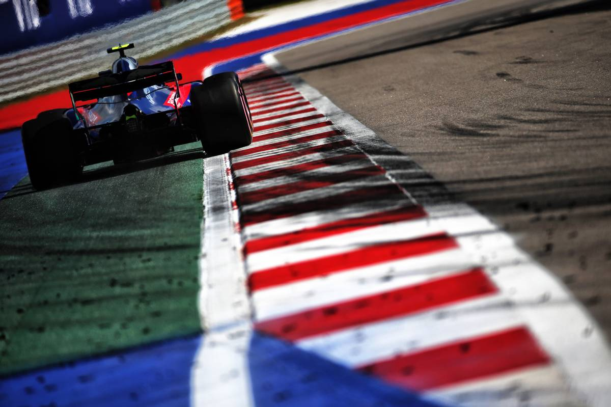 Pierre Gasly (FRA) Scuderia Toro Rosso STR13.