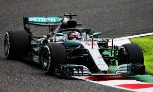 Hamilton and Mercedes top first free practice at Suzuka