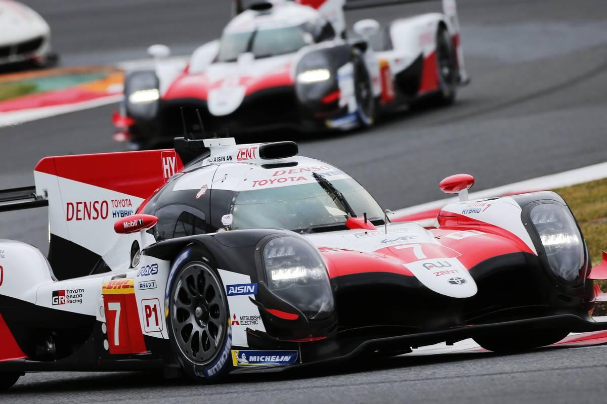 Mike Conway (GBR) / Kamui Kobayashi (JPN) / Jose Maria Lopez (ARG) #07 Toyota