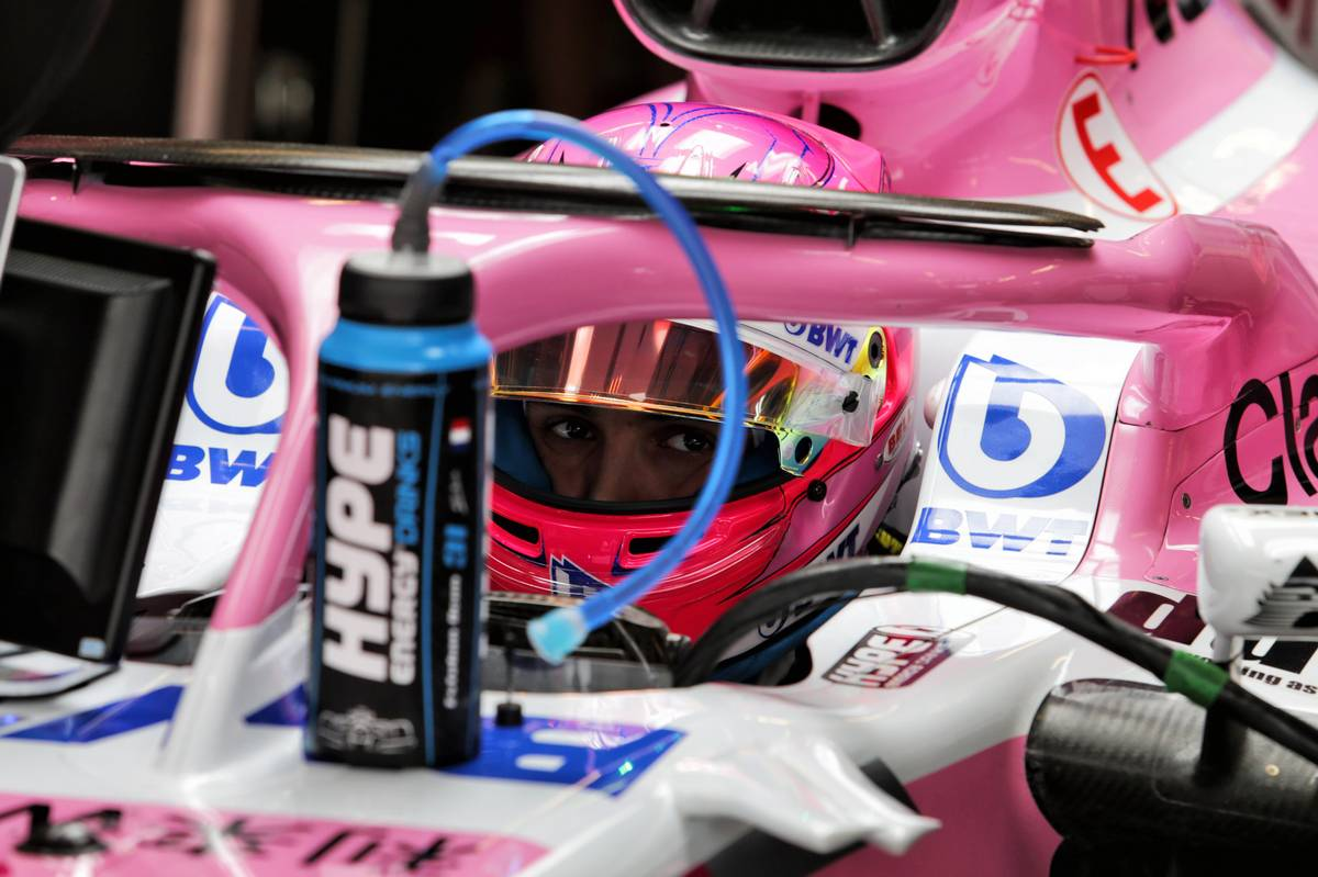 Esteban Ocon (FRA) Racing Point Force India F1 VJM11. 20.10.2018